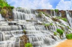 Понгур и другие красивые водопады в округе Далата во Вьетнаме. Посещение с экскурсиями